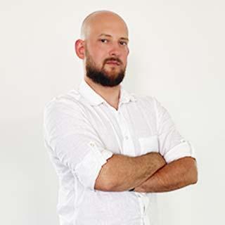 Jakub Gołębiewski - Kierownik Działu Marketingu